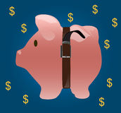Pig coin bank Royalty Free Stock Image