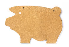 Pig Cork Board Royalty Free Stock Photos