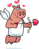 Pig Cupid Stock Images