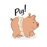 Pig design Stock Images