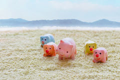 Pig doll I Royalty Free Stock Photo
