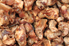 Pig ears food Stock Image