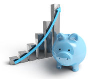 Pig Energy bar Royalty Free Stock Image