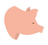 pig farm isolated icon design Stock Image
