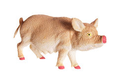 Pig Figurine Royalty Free Stock Images