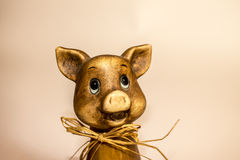 Pig figurine Royalty Free Stock Image