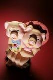 Pig Figurines Stock Photo