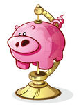 Pig Globe Royalty Free Stock Photography