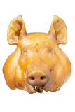 Pig head. Respect the sacred ritual Royalty Free Stock Photos