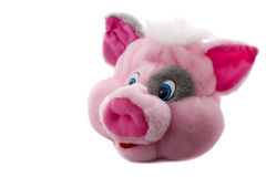 Pig head toy Stock Photography