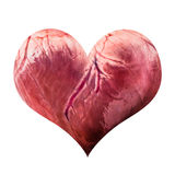 Pig heart Royalty Free Stock Images