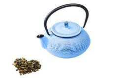 Pig-iron teapot Royalty Free Stock Image