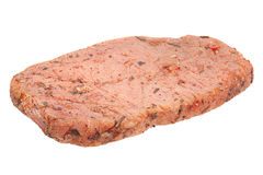Pig meat on white Stock Photography