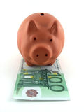 Pig money box stock photography