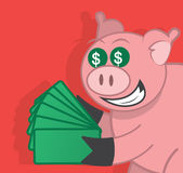 Pig Money Stock Photos