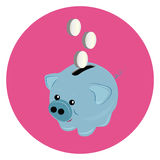 Pig moneybox Stock Photography