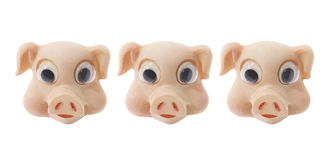 Pig Ornaments Stock Photo