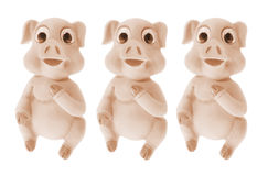 Pig Ornaments Stock Image