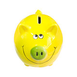 Pig piggy bank for money Stock Photo