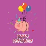 Pig present Stock Photography