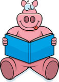 Pig Reading Royalty Free Stock Photos