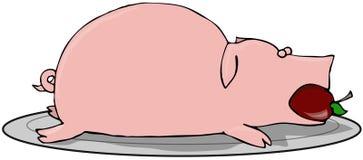 Pig Roast Royalty Free Stock Photo