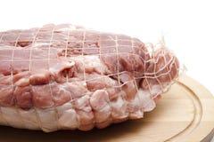 Pig roast raw Stock Photos