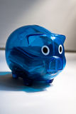 Pig-Shaped Coin Box Royalty Free Stock Images