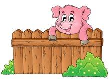 Pig theme image 3 Royalty Free Stock Photos
