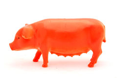 Pig toy Royalty Free Stock Image