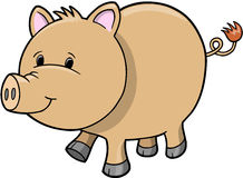 Pig Vector Illustration Stock Image