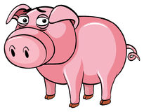 Free Pig With Sad Face Royalty Free Stock Images - 95826259