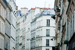 Pigalle houses Stock Images