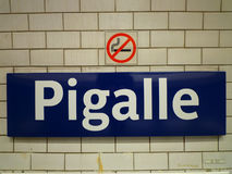 Pigalle, Paris, France Stock Photos