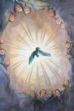Pigeon dans la version religieuse Photos libres de droits