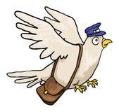 Pigeon de courrier Photographie stock libre de droits