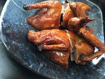 Pigeon grillé en style de Hong Kong Images stock