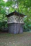 Pigeon House For Bids In The Park royalty free stock images