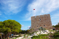 Pigeon Island Fortress Stock Photos