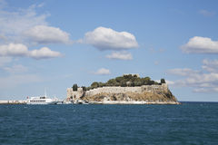 Pigeon Island. Kusadasi, Turkey Royalty Free Stock Photos