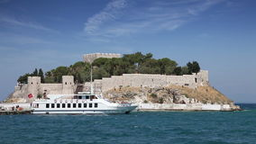 Pigeon Island in Kusadasi, Turkey Stock Photography