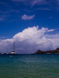 Pigeon Island Stock Photo