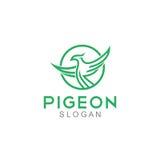 Pigeon Logo Template Image libre de droits