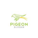 Pigeon Logo Template Photos libres de droits