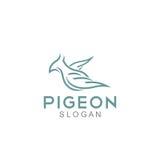 Pigeon Logo Template Photo stock