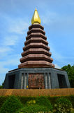 Pigeon Pagoda Stock Photography