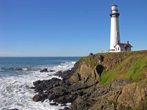 Pigeon Point. The coast near Pigeon Point, California stock photo