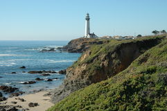 Pigeon Point Lighthouse Royalty Free Stock Photos