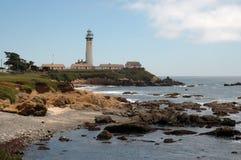 Pigeon Point Lighthouse. Near Pescadero, California royalty free stock photography