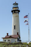 Pigeon Point Lighthouse. On California coast Royalty Free Stock Images